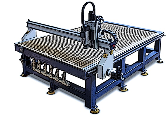 Автоматизация участка фрезеровки, лазерной резки на рекламно-производственном предприятии