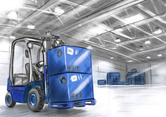 Автоматизация склада, складского учета на рекламно-производственной компании
