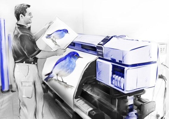 Автоматизація широкоформатного друку