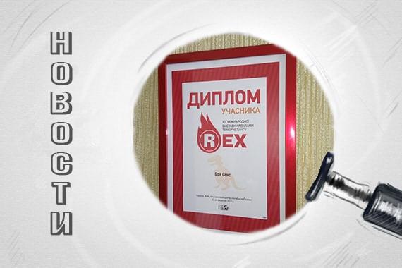 Компания Bon Sens на выставке рекламы Rex 2017