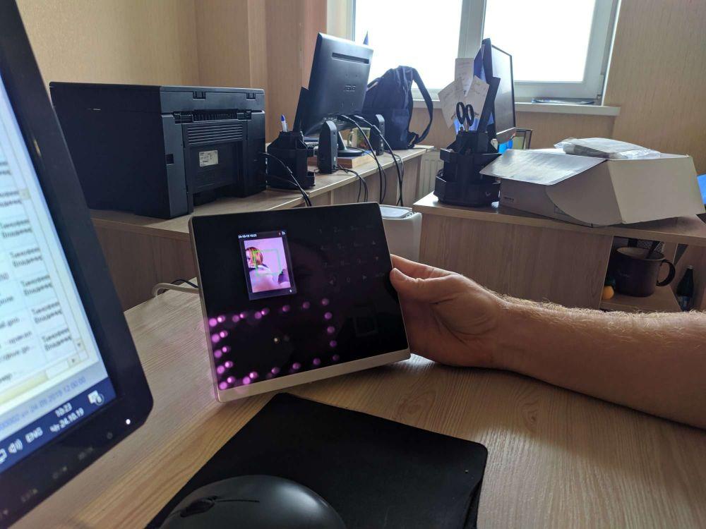 Интеграция терминала контроля рабочего времени в программу BonSens