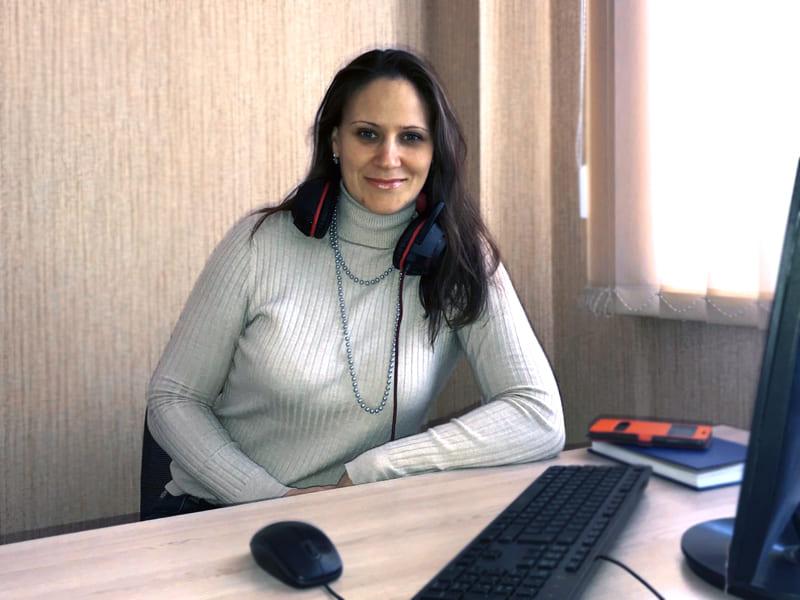 Менеджер консультант компании BonSens - Наталья Совкуцан