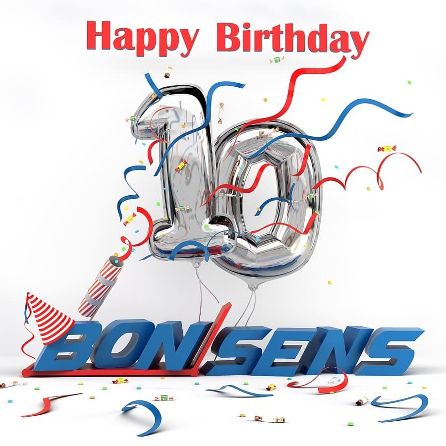 День Народження BonSens - нам 10 років!