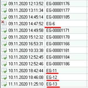 Як виправити нумерацію документів