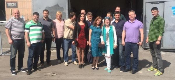 Посещение производственной базы рекламной группы Фламинго